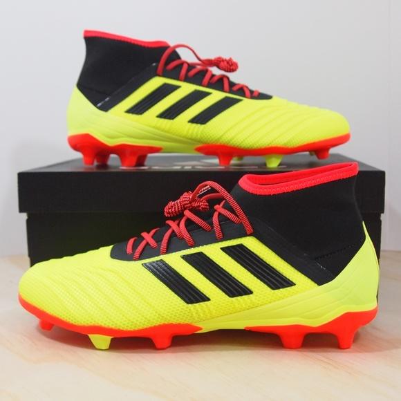 a5b1a0f33 Adidas Predator 18.2 FG Size 9 Mens Soccer Cleats